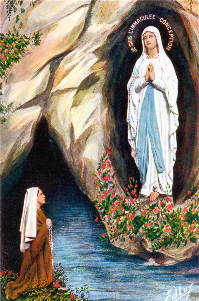 Our Lady of Lourdes and St. Bernadette