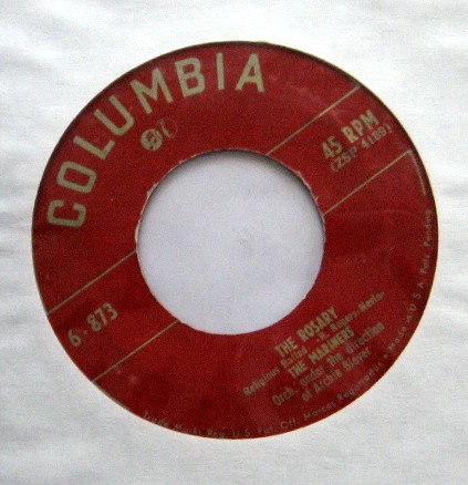 Our Lady Honored on 45s – Mercy and Mary
