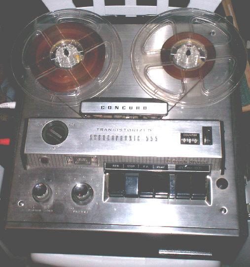 Concord Tape Deck