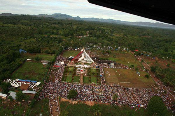 At Divine Mercy Shrine Philippines