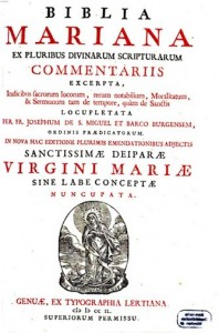 Biblia Mariana Title Page